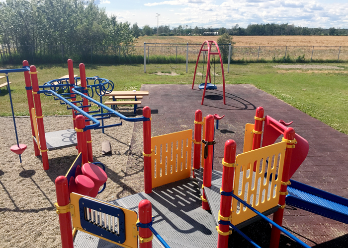 Baldonnel Playground with oodle swing