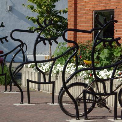 City of Cranbrook Custom Dero Bike Racks