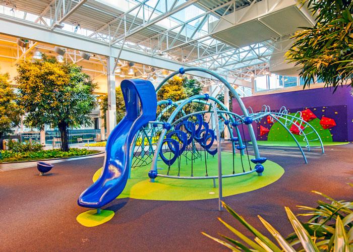 Devonian Gardens Evos playground