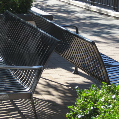 Highgate Mall Victor Stanley benches