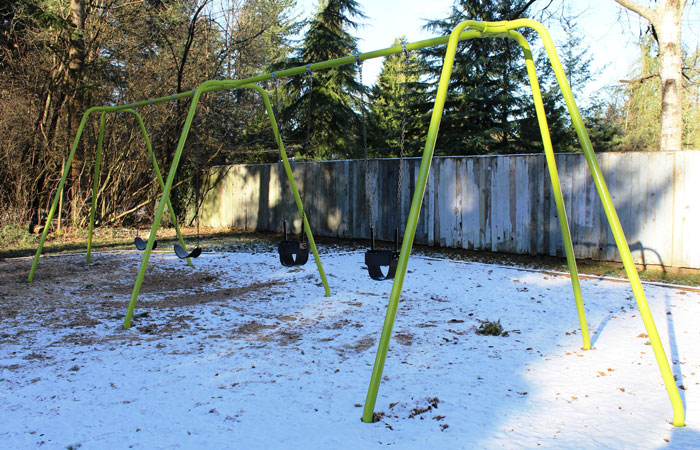 Hunter Park Swings