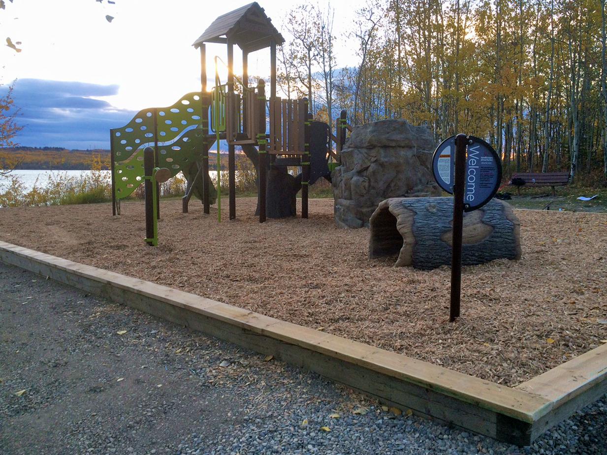 Beatton Provincial Park Playground