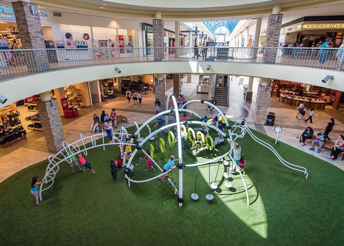 Lougheed Mall Playground