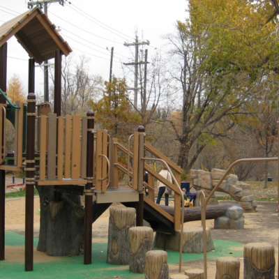 Rossdale Community League Playground