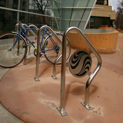 Dero Swerve bike racks