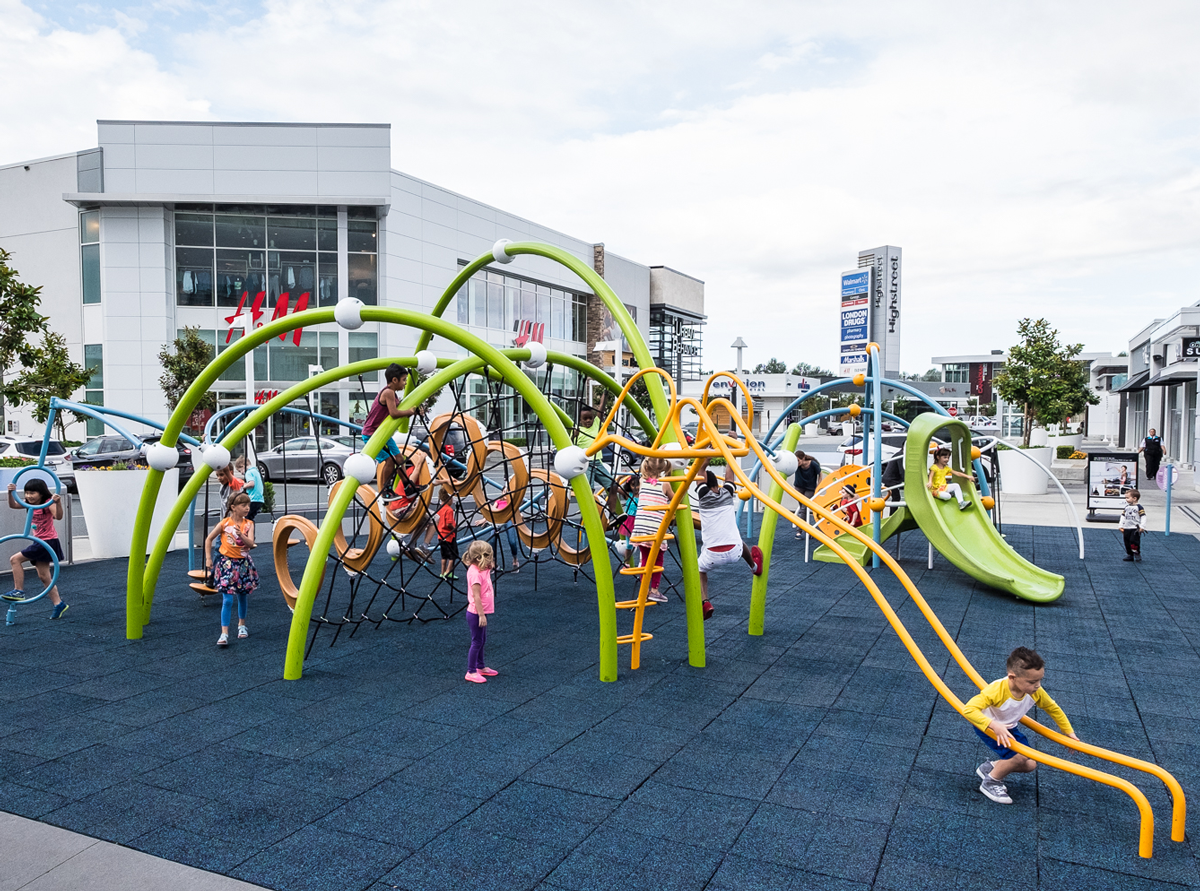 Highstreet Mall playground structure