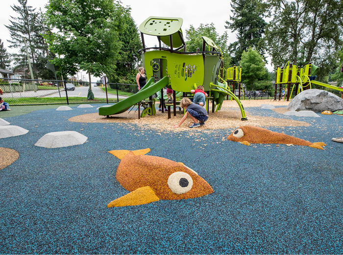 Como Lake Park SmartPlay Motion with rubber surfacing