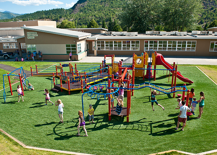 Playground Grass Surfacing