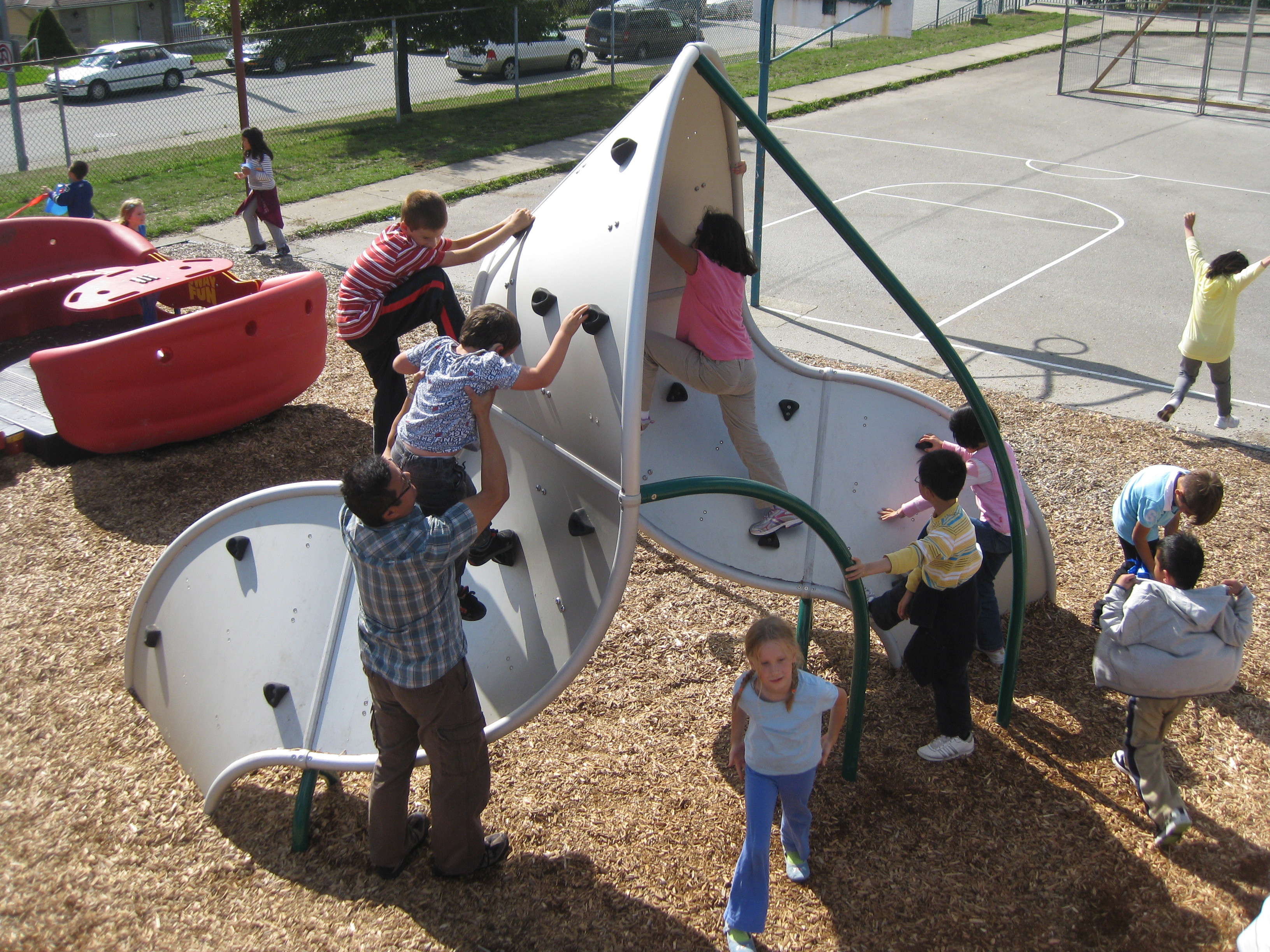 South Slope Elementary Mobius Climber