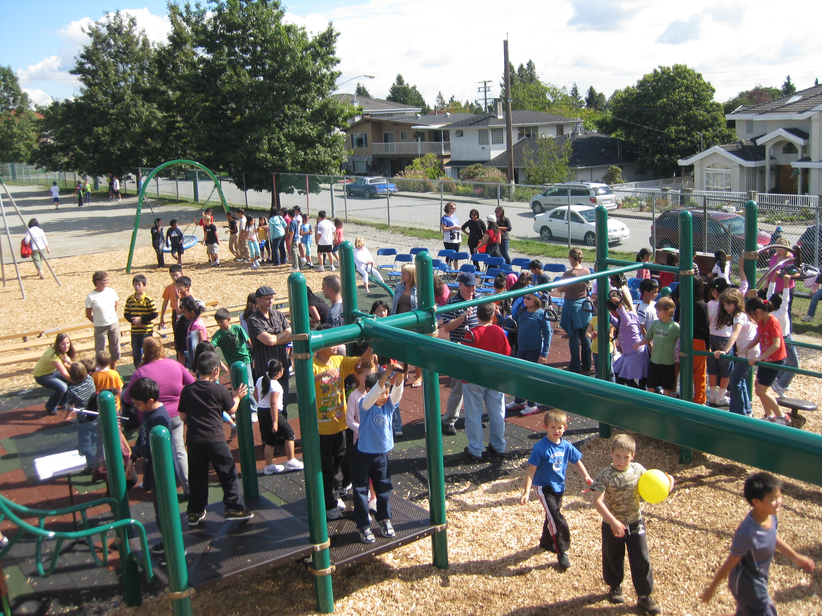 South Slope Playground Grand Opening