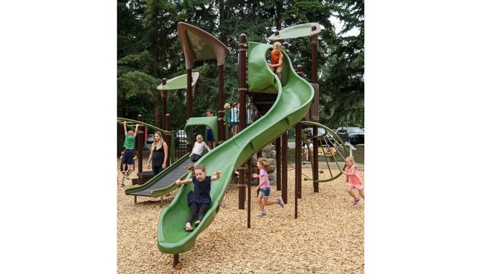 Herald Park Playground slide