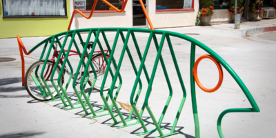 Custom Dero bike rack
