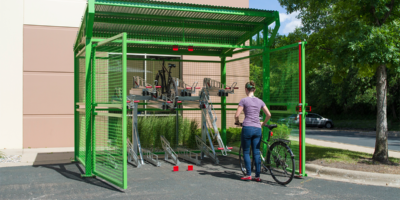 Dero Bicycle Shelters