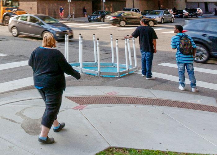 DezignLine Pedestrian Bump Out