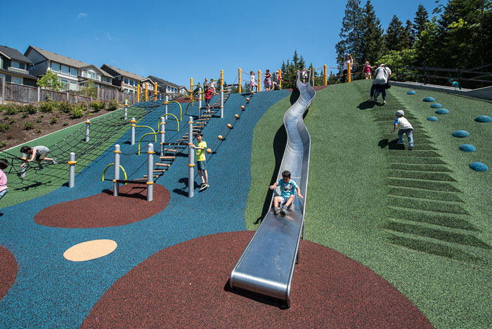 Queenston Park Hillside Slide