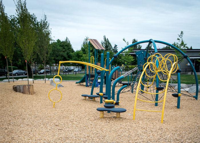Nanaimo Park Evos Play structure