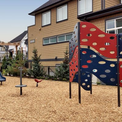 Ashbury and Oak playground