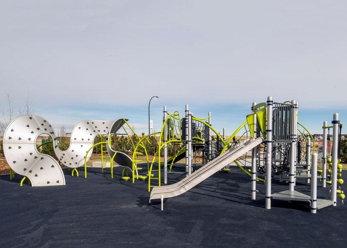 Carrington Greenway playground