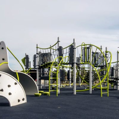 Carrington Greenway playground structure