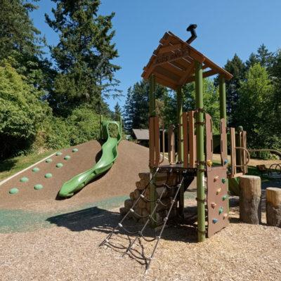 Emily Carr Park playground