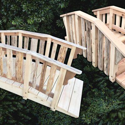 Natural Play bridges