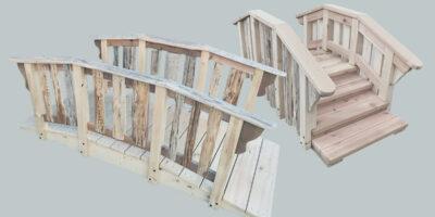 small wooden bridges