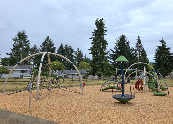 Harbour Wood play structure
