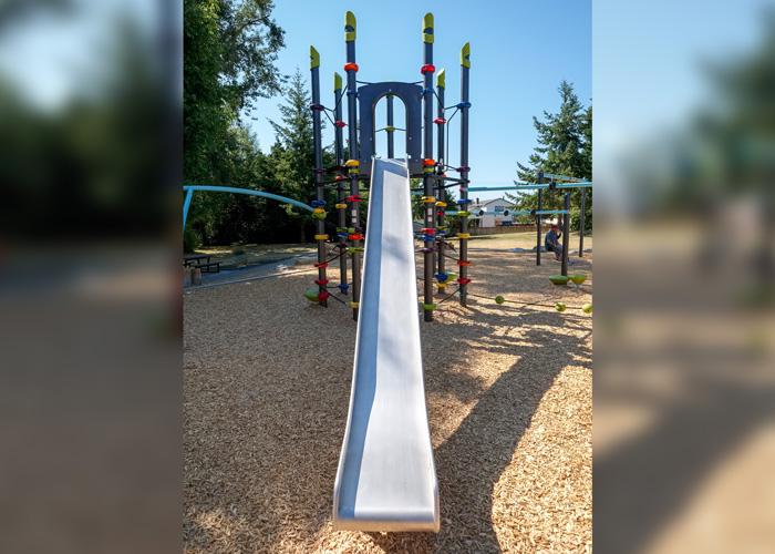 Rainbow Park slide