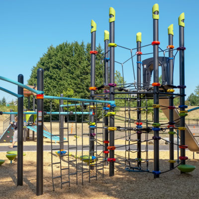 Rainbow Park play structure