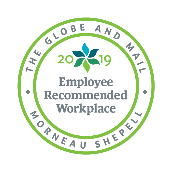 Employee Recommended Workplace badge