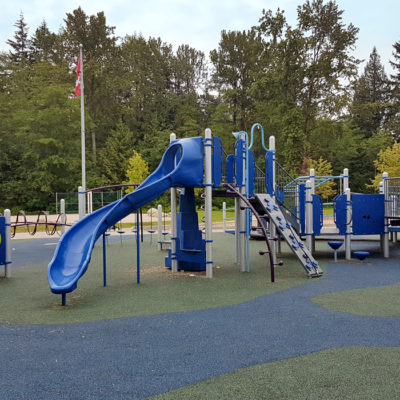 Norma Rose playground with slides