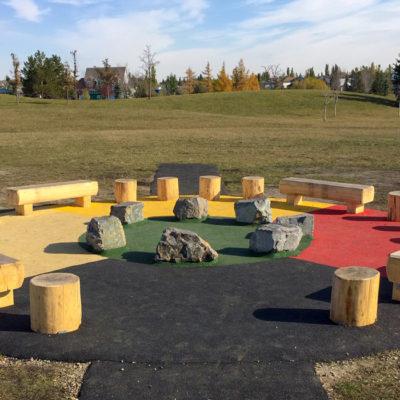 Roberta McAdams outdoor classroom