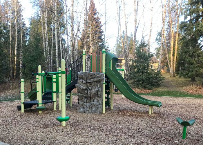 Starlane play space with spinner