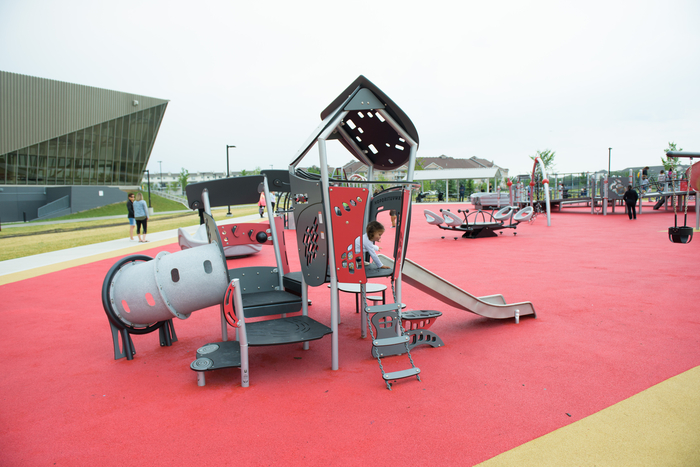Accessibile Playground at Clareview Jumpstart Park