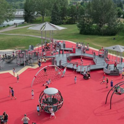 Canadian Tire Jumpstart Accessible playground